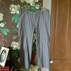 BROOKS BROTHERS Striped Stretch Pants